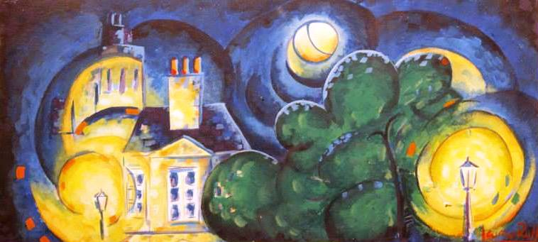 Luna sobre París