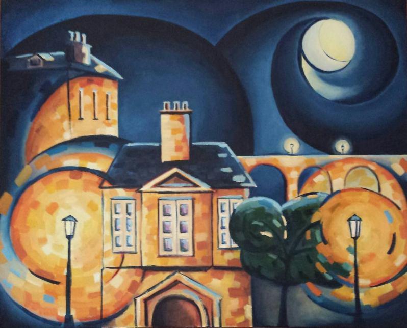 Nocturno de luna llena. Jaime Rull