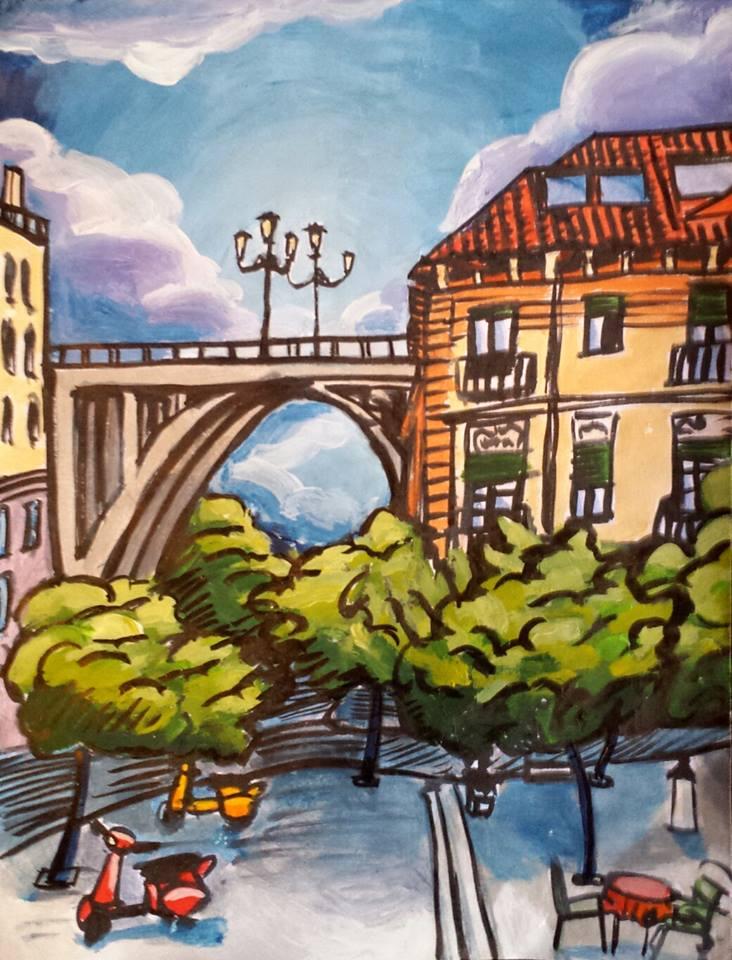 El viaducto. Jaime Rull